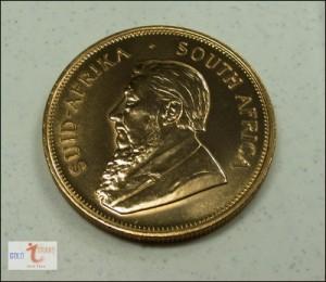 Krpgerrand Goldmünze